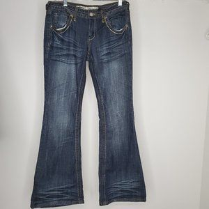NWT Dollhouse Jeans The Lovestory Low Rise Flare